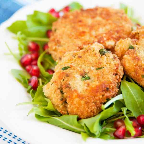 Easy Quinoa and Cheese Patties