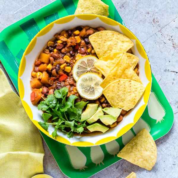 Slow Cooker Three Bean Chilli