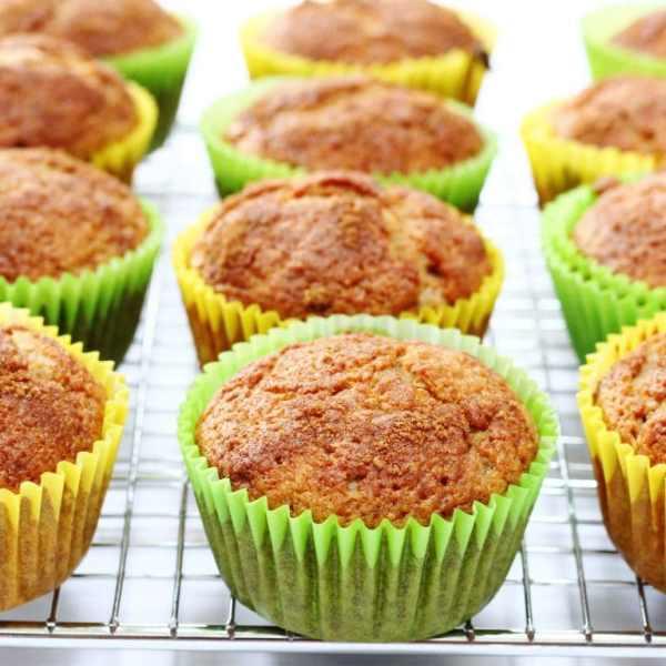 Cinnamon Applesauce Muffins