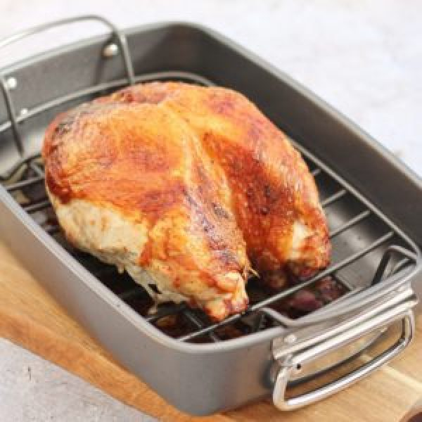 How long should I cook a turkey crown?