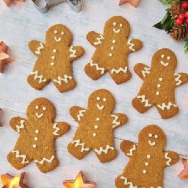 Vegan Gingerbread Men