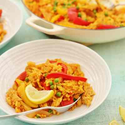 Leftover Turkey Paella