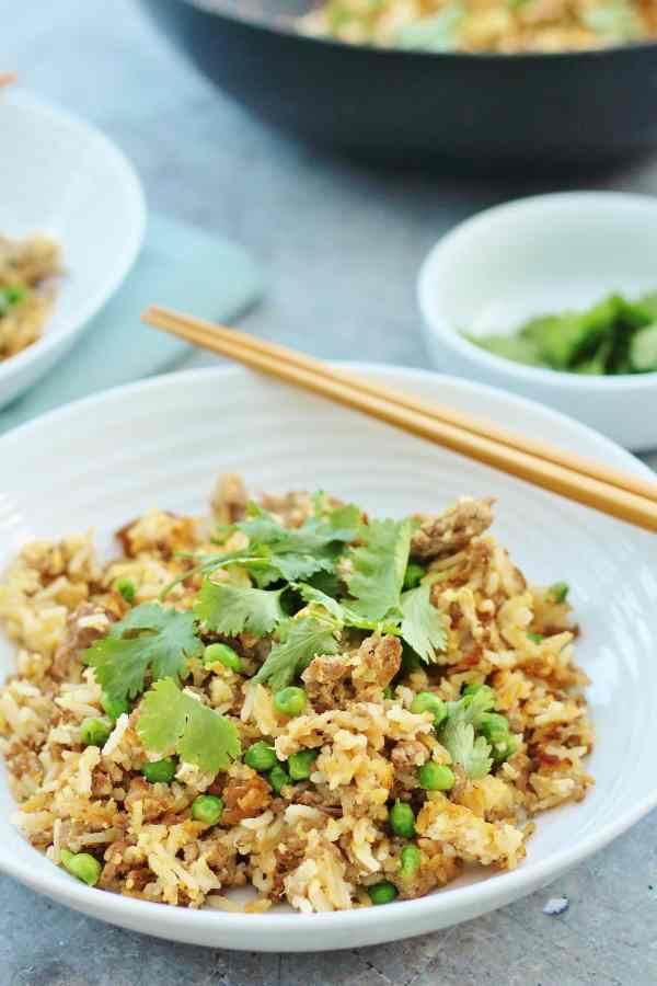 Chinese Style Lamb Fried Rice