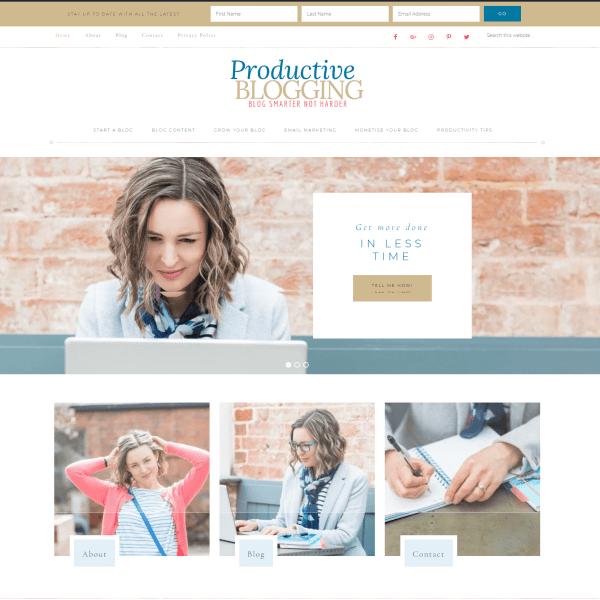 Productive Blogging Website Eb Gargano