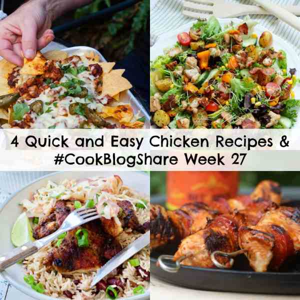 4 quick and easy chicken recipes