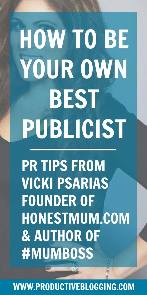 How to be your own best publicist: PR tips from Honest Mum