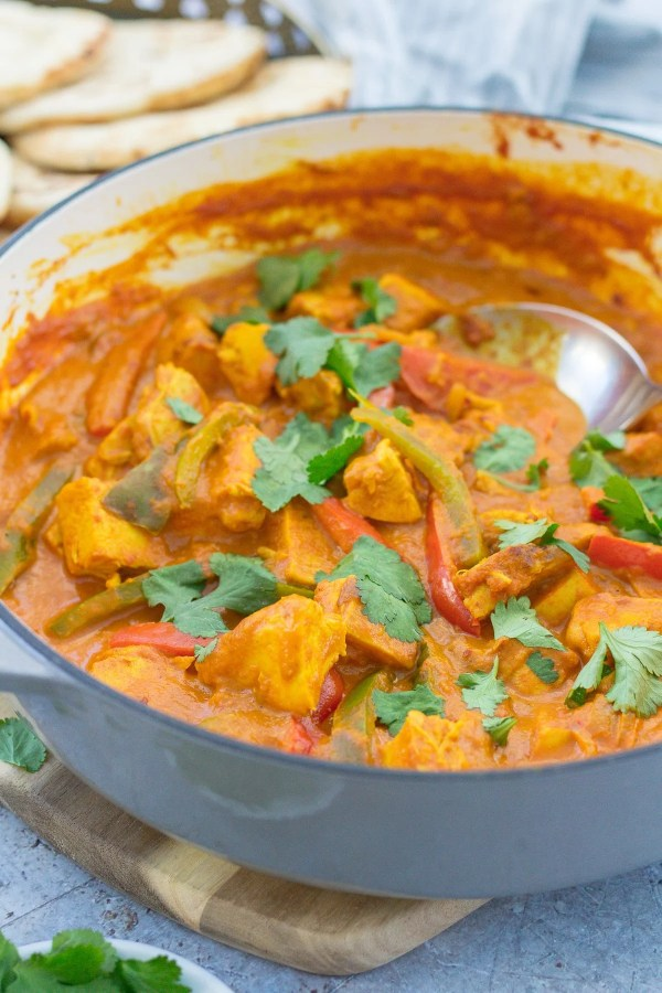 Easy Turkey Leftovers Curry