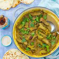 Leftover Roast Beef Korma
