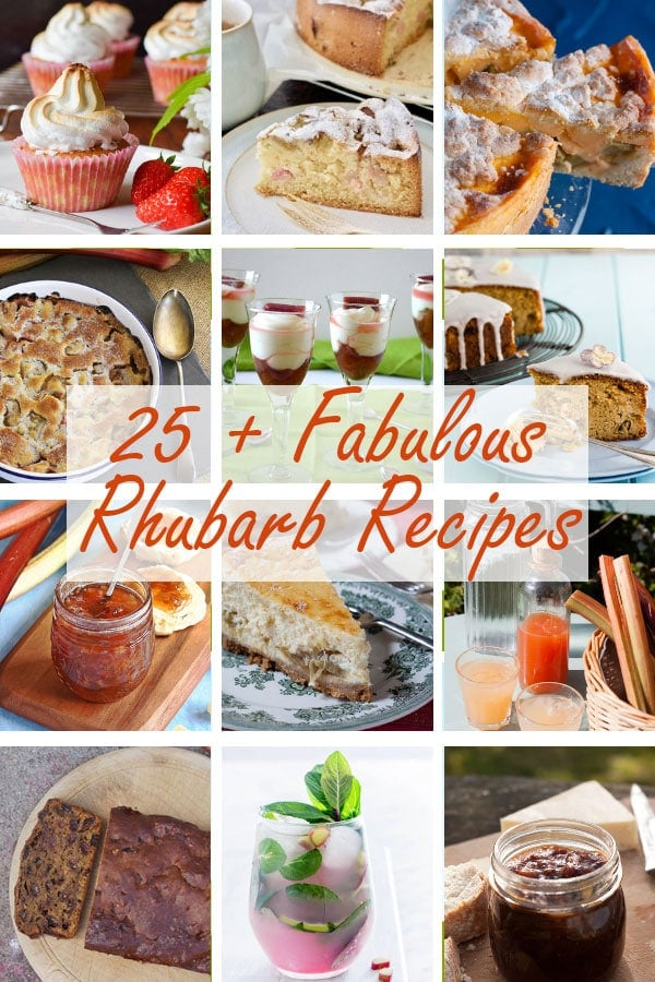 25 Fabulous Rhubarb Recipes