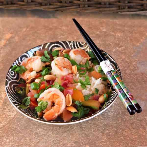 Shrimp Thai Basil Stir-Fry