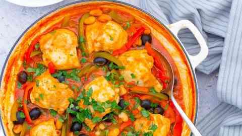 Easy Spanish Chicken Stew