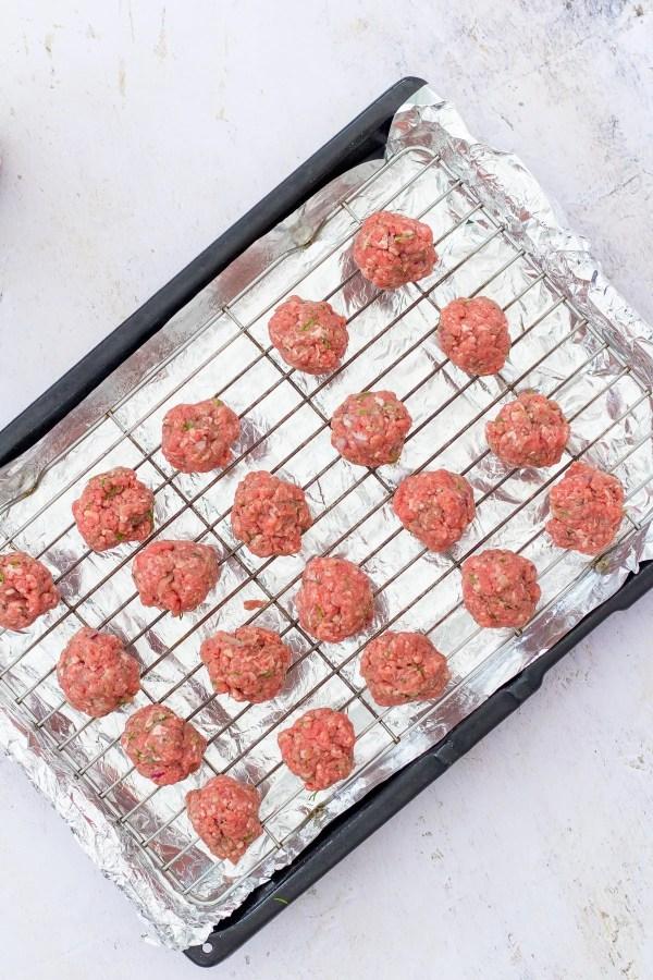 Homemade IKEA meatballs