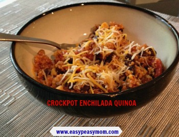 Crockpot Enchilada Quinoa