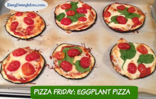Pizza Friday Eggplant Pizza