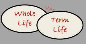 term vs. whole life