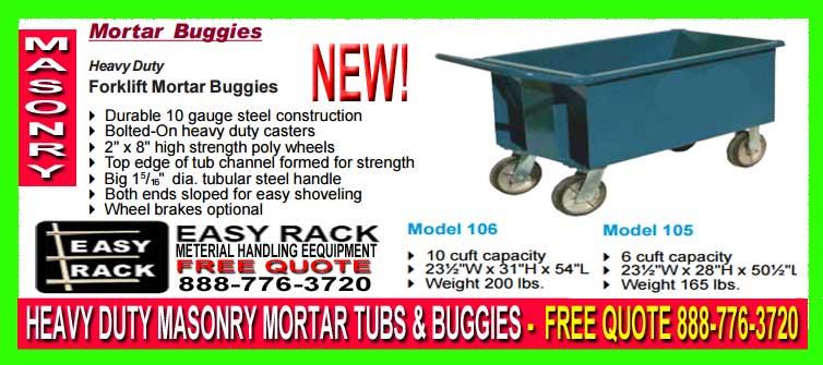 Mortar Buggies For Sale