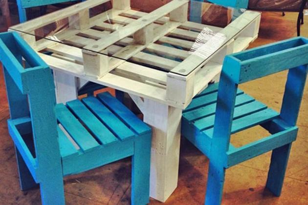 Mobili Con Pallets : Arredare casa grazie ai mobili con pallet