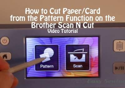 Scan N Cut Easy Sewing For Beginners