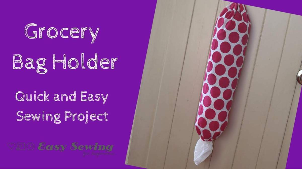 How to Make a Grocery Bag Holder