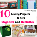 10 Sewing Projects to Help Organize and Declutter featured image