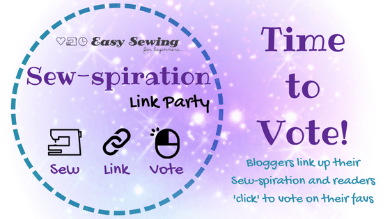Sew-spiration Link Party Time to Vote