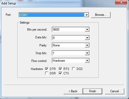 Redsail Plotter USB Driver for Flexisign steps 6