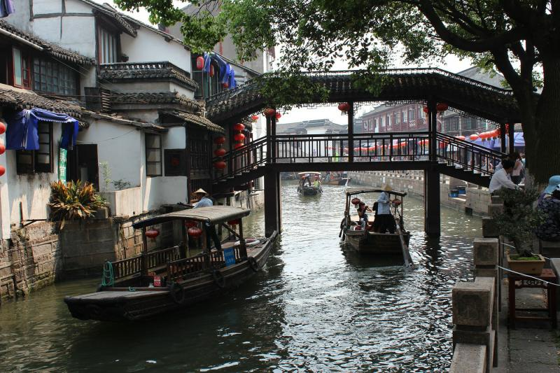 water town trip from Shanghai