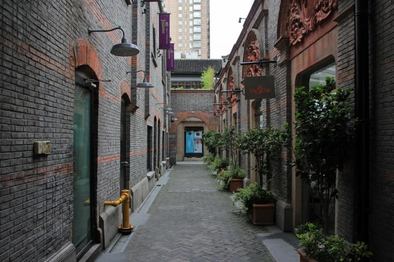 The old town of Shanghai
