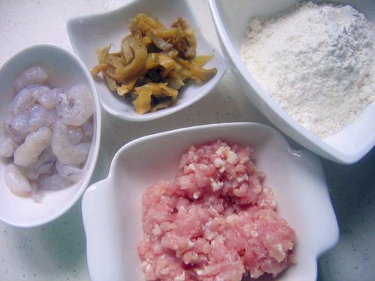 Ingredients for Making Dumpling