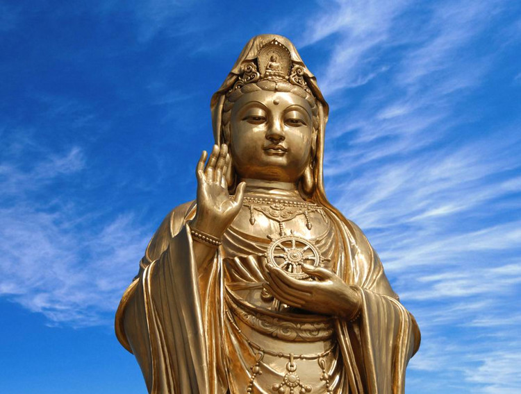 Guanyin of the South Sea on Mt.Putuoshan