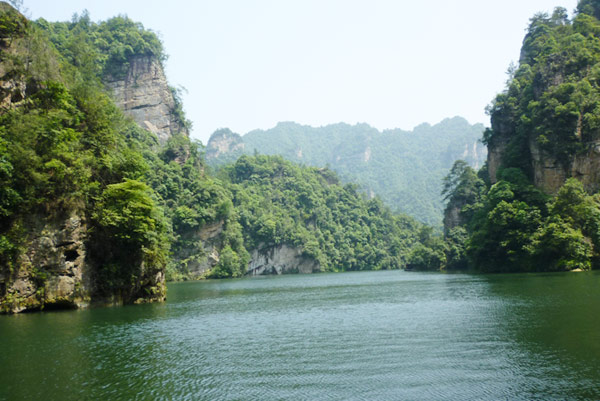 Baofeng Lake, Zhangjiajie National Forest Park, Zhangjiajie city