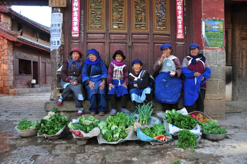 baisha village lijiang