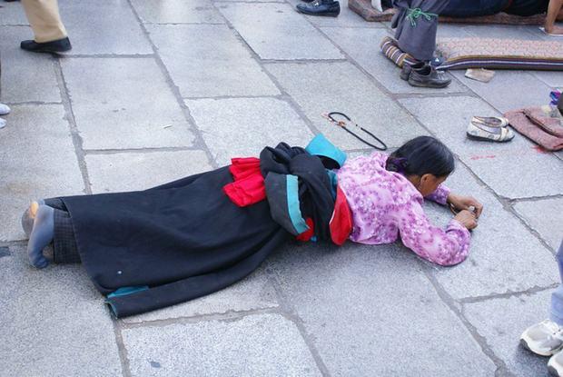 Barkhor Street, Lhasa Tibet tour