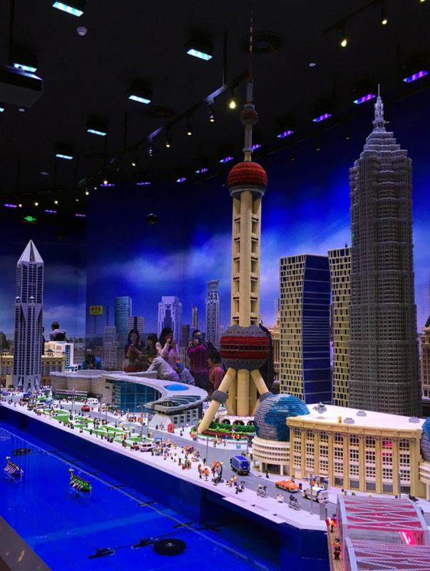 visit to Shanghai Legoland