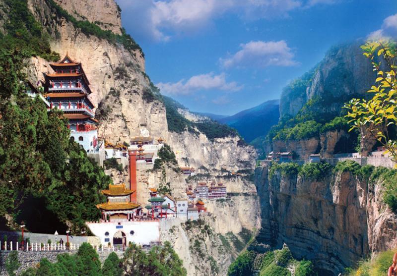 China mountain hiking trip