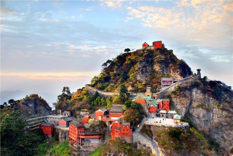 China holy mountain tour