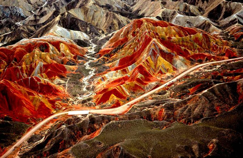 China Zhangye Danxia Landform