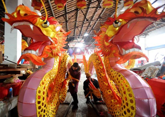 Dragon decorations, Chinese Culutre