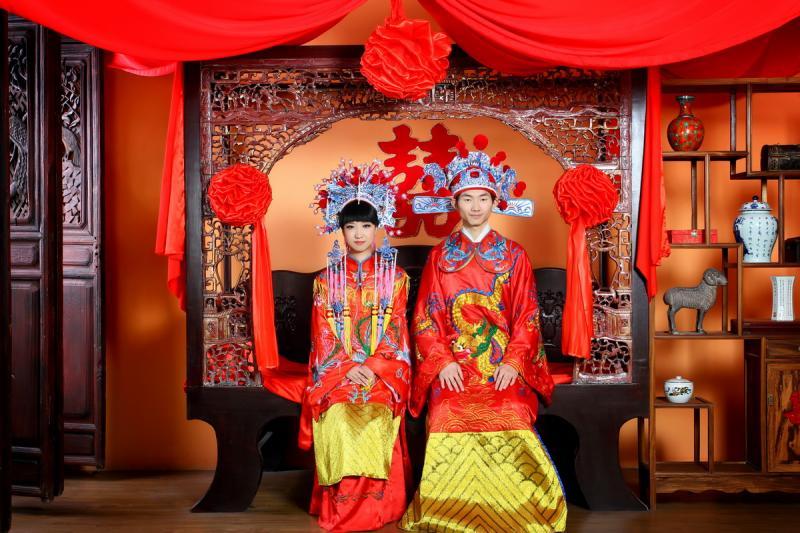 Traditioanl Chiense wedding
