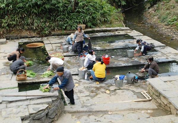 Huangyao Ancient Town nearby Yangshuo, Guilin