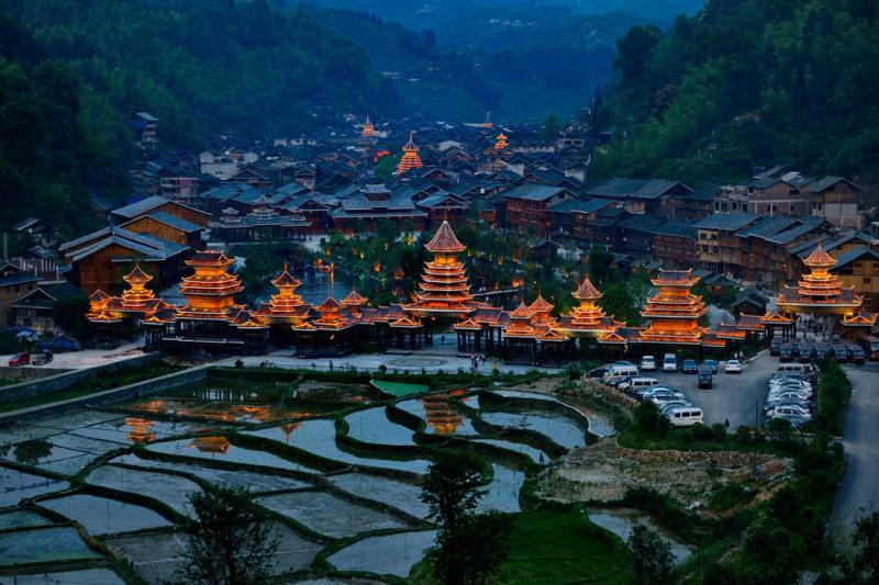Tour to Zhaoxing Dong Village Guizhou