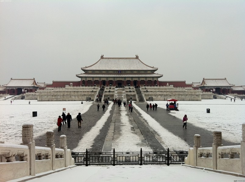 Beijing Palace Museum in Heavy Snow  Beijing Forbidden City Travel     Beijing Palace Museum in Heavy Snow