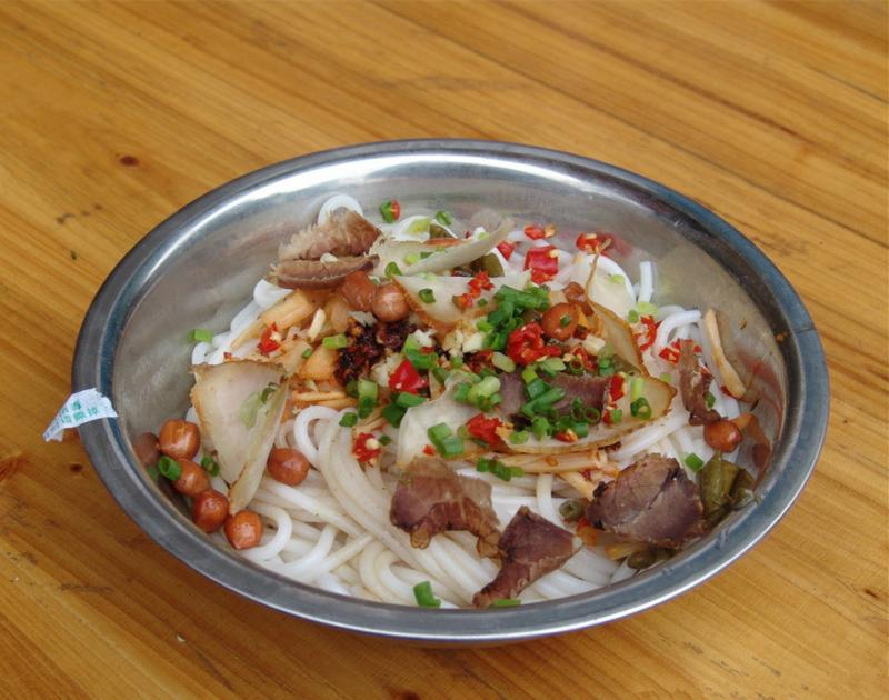 Rice Noodles in Guilin