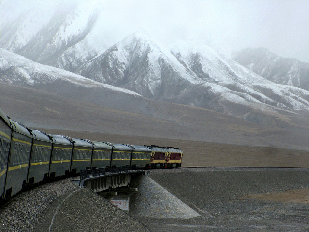 Tibet and Train
