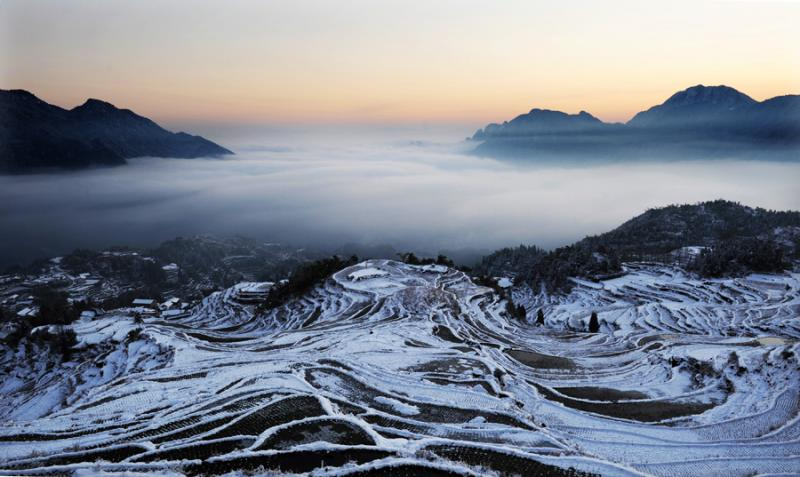 China terraced fields tour