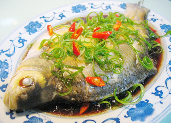 Fish, Lucky Food for Chinese New Year