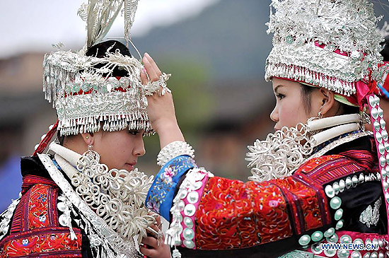 Miao Sisters Rice Festival - Folk Valentine's Day