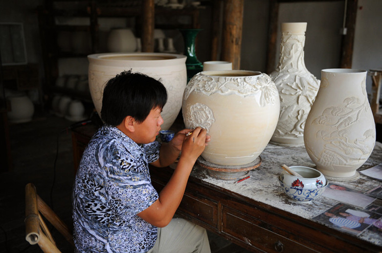 World's Porcelain Center in Jingdezhen
