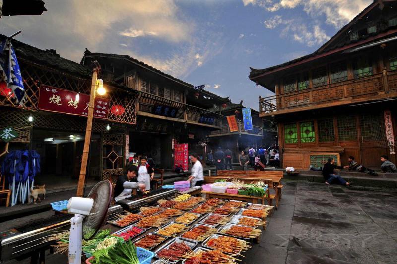 Chengdu shangli old town tours