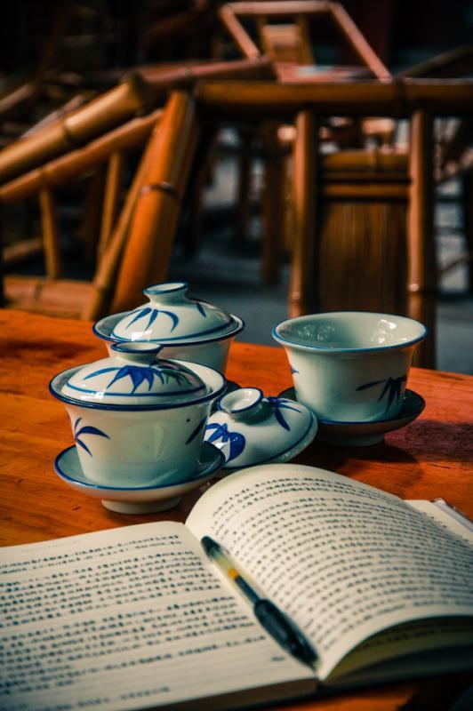 Drinking Tea in China